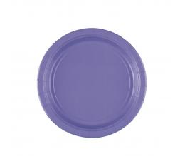 Тарелочки, фиолетовые (8 шт/ 17 см)