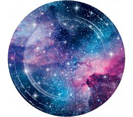 "Тарелочки ""Галактика"" (8 шт/ 22 см)"