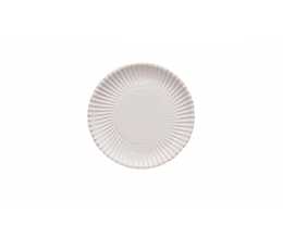 Тарелочки - подносы, белые (10 шт./ 23 см)