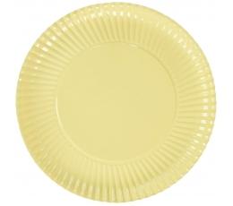 Тарелочки-подставки, цвет шампанского (10 шт/29 см)