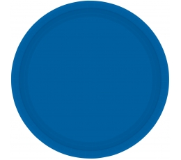 Тарелочки, синий (8 шт./17 cm)
