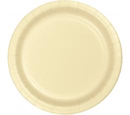 Тарелочки, цвета шампанского (8 шт/ 17 см)