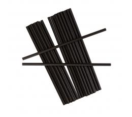 Трубочки, черные (25 шт)