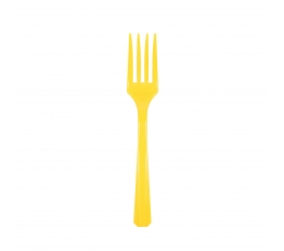 Вилочки , желтые (24 шт)