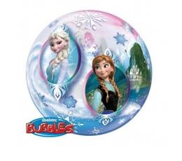 """Caurspīdīgs (bubble) balons """"Frozen"""" (56 cm)"""