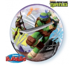 "Balons (bubble) ""Bruņurupuči nindzjas"" (56 cm)"