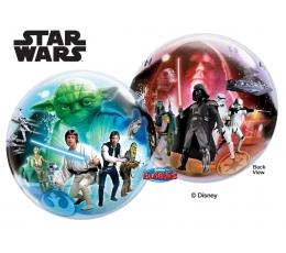 """Balons (bubble)  """"Zvaigžņu kari"""" (22 x 56 cm)"""