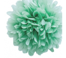 Papīra bumba, piparmētras krāsas (2 gab./30 cm)