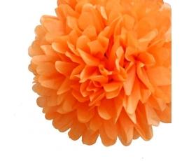 Papīra bumba, oranža (2 gab./19 cm)
