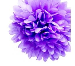 Papīra bumba, violeta (2 gab./19 cm)