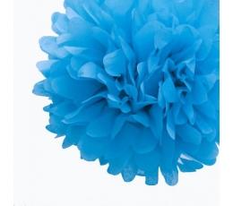 Papīra bumba, zila (2 gab./19 cm)