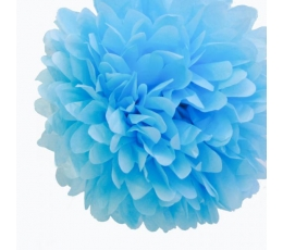 Papīra bumba, gaiši zila (2 gab./19 cm)