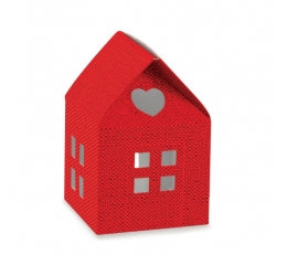 "Kaste ""Sarkanā māja"" (1 gab ./55x55x80 mm.)"