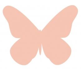 Tauriņi, persiku krāsā (20 gab./ XS)
