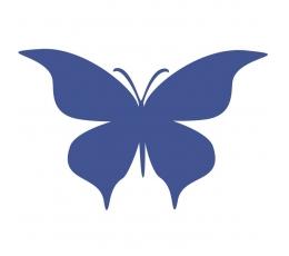 Tauriņi, tumži zilā krāsā (20 gab./ L)
