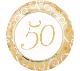 """Folija balons """"50""""  (45 cm)"""