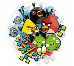 """Folija balons """"Angry Birds""""/ caurspīdīgs (66 cm)"""