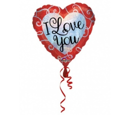 "Folija balons ""I love you"" (45 cm)"