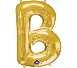 "Folija balons - burts ""B"" (86 cm)"
