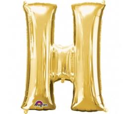 "Folija balons - burts ""H"" (81 cm)"