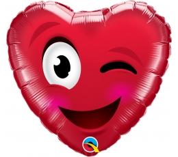 """Folija balons """"Mīlas smaids"""" (46 cm)"""