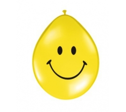 "Baloni ""Smaidiņš"" / dzeltens (100 gab. / 28cm)"