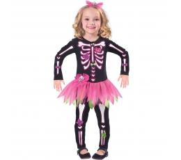 "Kostīms ""Rozā skelets"" (94 - 104 cm)"