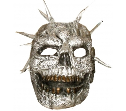 Маска «Зомби» / серебро (1 шт.)