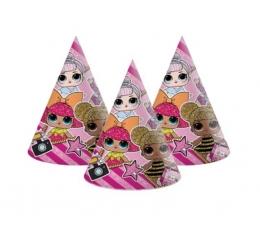 """Cepurītes """"Lol Dolls"""" (6 gab.)"""