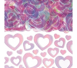"Konfeti ""Caurspīdīgas sirdis"" (14 g.)"