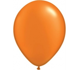 Baloni, perlamutra, oranži (100 gab. 12 cm.)
