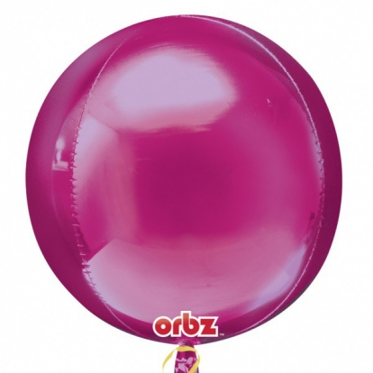 Folija balons-orbz, aveņu krāsas (38 cm x 40 cm)