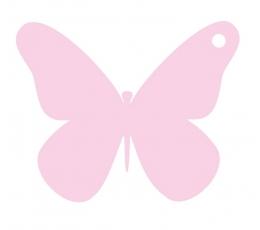 Novēlējumu tauriņi / rozā (20 gab.)