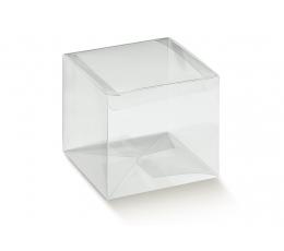 Caurspīdīga dāvanu kastīte (1 gab. / 60x60x60 mm.)