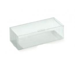 Caurspīdīga dāvanu kastīte (1 gab. / 90x60x40 mm)