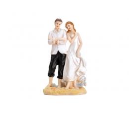"""Tortes dekorācija """"Jaunlaulātie"""" (14,5 cm.)"""