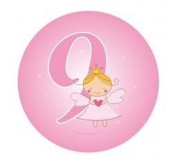 "Žetons. Eņģelis ""9"" (5,5 cm)"