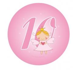 "Žetons. Eņģelis ""10"" (5,5 cm))"
