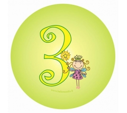 "Žetons. Feja ""3"" (5,5 cm)"