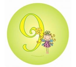 "Žetons. Feja ""9"" (7,7 cm)"