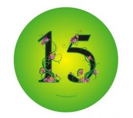 "Žetons. Ziedi ""15"" (7,7 cm.)"