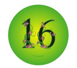 "Žetons. Ziedi ""16"" (7,7 cm.)"