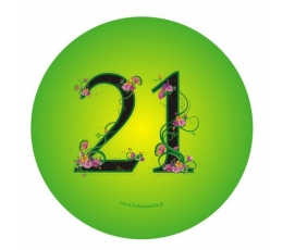 "Žetons. Ziedi ""21"" (7,7 cm.)"