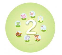 """Žetons. Mājdzīvnieki """"2"""" (5,5 cm.)"""