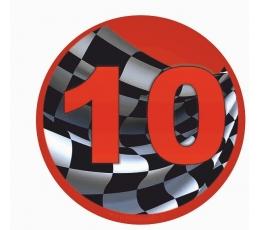 "Žetons ""10. vieta""  (7.7cm.)"