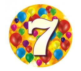 """Žetons """"Krāsaini baloni-7"""" (7,7 cm.)"""