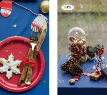 Drosmīgās krāsas ziemassvētku dekoros