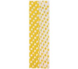 Salmiņi, dzelteni punktaini (10 gab)