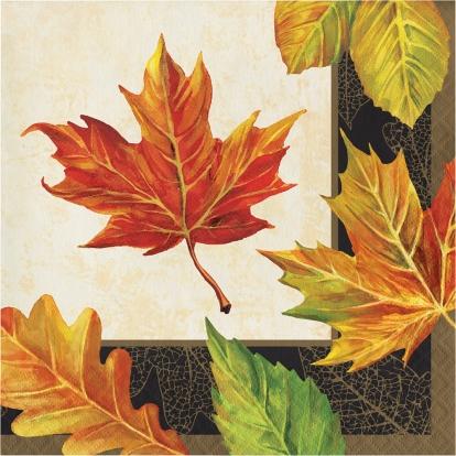 """Салфетки """"Осенние листья"""" (16 шт)"""