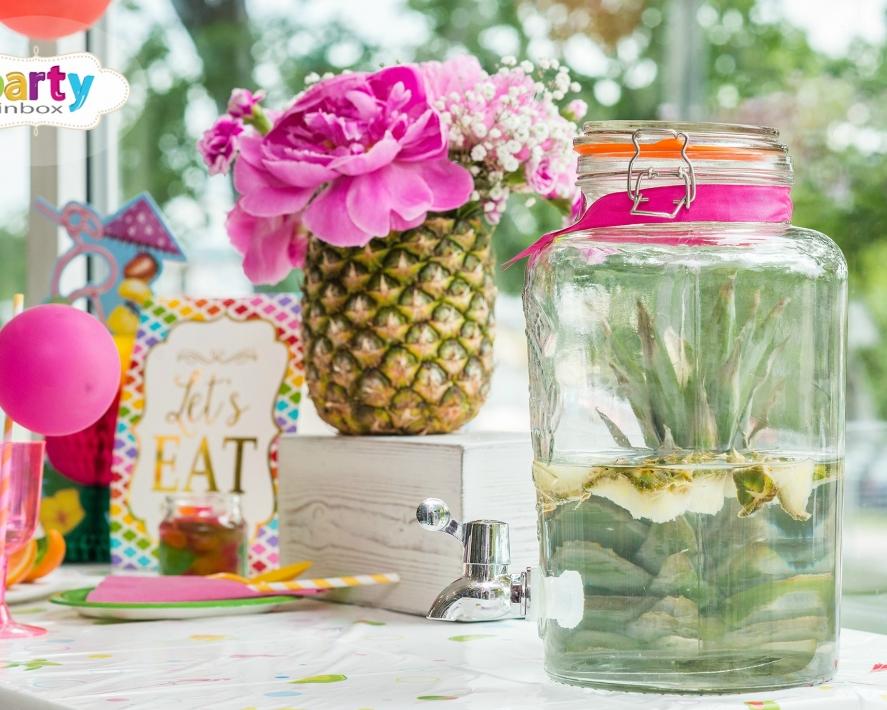 Tutty frutty vasaras galda dekori!